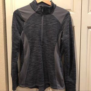 Avalanche 1/2 zip pullover - Heather Grey Sz M
